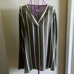 Loft long sleeve blouse size XL